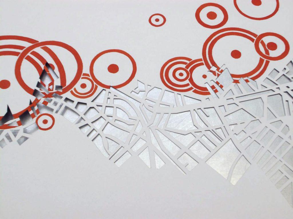 artist-book query cut-out spots maps