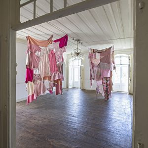textile - walls - pink - clothes